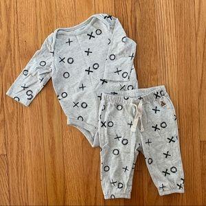 Baby gap matching set ❤️